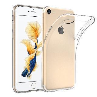 Tenký gelový obal pro iPhone 6/6S průhledný