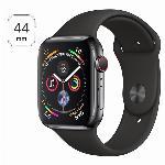 Apple Watch 4 44mm nerezové tělo a safírové sklíčko + LTE Grey