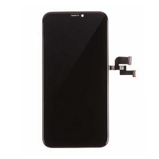 Premium HARD OLED displej pro iPhone X - Černá
